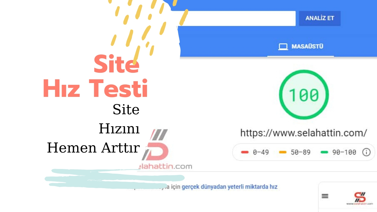 Photo of Site hız testi
