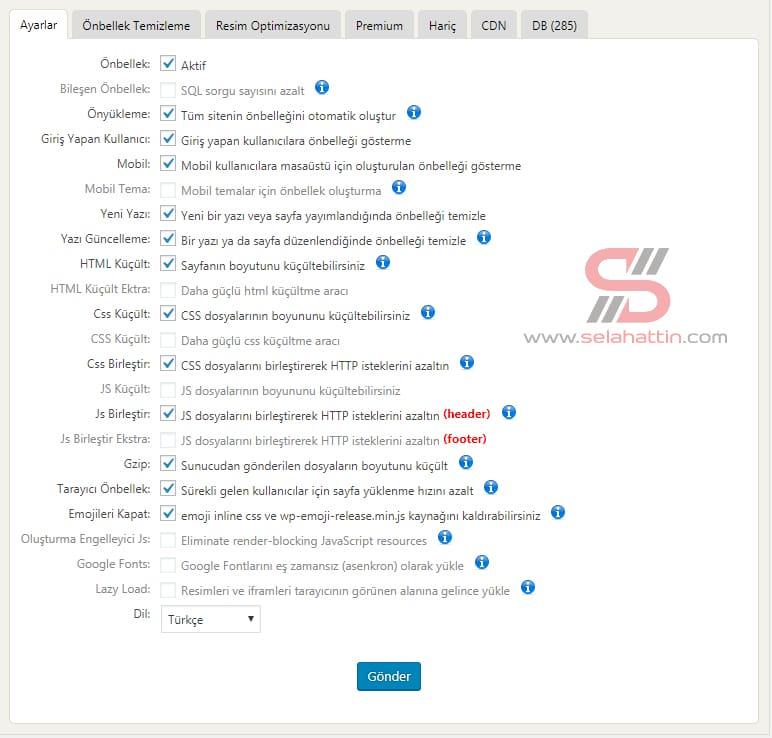 wordpress site nasıl hızlandırılır